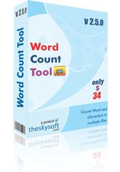 Word Count Tool is a unique word count software tool developed to help the user in counting words, characters, lines and pages in multiple files at one go. The software can count words, lines and pages in Word excel, PowerPoint, PDF, Publisher files with ease.