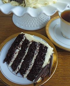 ... Pinterest | Dark chocolate cakes, Vanilla frosting and Chocolate cakes