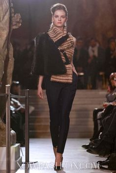 Bouchra Jarrar Couture Spring Summer 2013 Paris