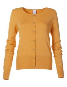 Cardigan in honey. As Deep Autumn use to your dark autumn colours for tops. Not to face- under your chin you need less warm and more muted, darker colours. Do not wear for full figure!