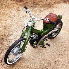 Honda Cub 90 street Cub custom bobber | United Kingdom | Gumtree