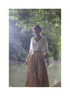 Long Skirt, Long Blouse