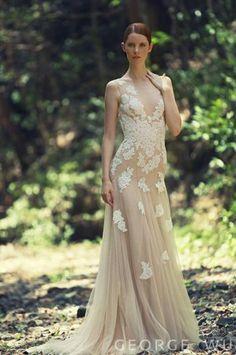 Свадебные и вечерние платья George Wu 2014