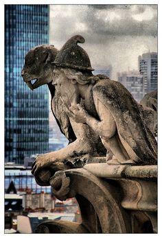 Chimeras from Notre-Dame