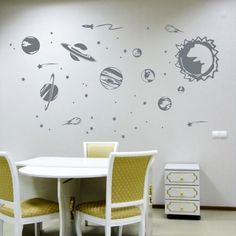 Solar System Wall Decal at AllPosters.com