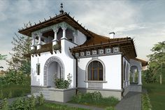 Revival Architecture, Facade Architecture, Old Abandoned Houses, Old Houses, Spanish Style Homes, Design Case, Home Fashion, Modern House Design, Home Deco