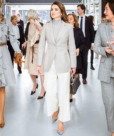 Queen Máxima and Queen Rania visited ROC Mondriaan