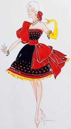 Cabaret, Folies Bergeres, Showgirl Costume, Disney Princess Fashion, World Tv, Showgirls, Photoshoot Inspiration, Costume Design, Snow White