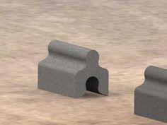 ELEMENTO CONSTRUCTIVO - YouTube Interlocking Concrete Blocks, Concrete Building Blocks, Concrete Block Walls, Paving Design, Brick Design, Module Design, Brick Pathway, Brick Laying, Tiny House Loft