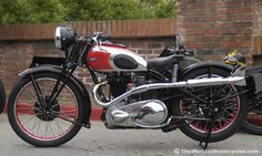 1936 500cc Ariel Red Hunter