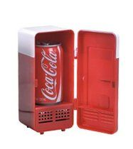 Mini USB-Powered Fridge Cooler for Beverage Drink Cans in Cubicle and Home office (Red) mini usb refrigerator //  Description Supports Cooler & Warmer  Stylized as a mini fridge , 4-foot cable. It looks cool on any desktop  Easy installation, no driver required, plug & play  Powered by USB cable with a switch to a USB port located on your PC prior, no batteries required  This USB Fridg// read more >>> http://Paz374.iigogogo.tk/detail3.php?a=B00DVF4DUO