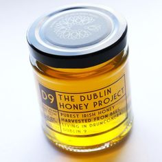 People say that the best honey for you is honey harvested from bees living locally - but Dublin honey can be hard to find. Honey Packaging, Best Honey, Pure Honey, Bee Keeping, Coffee Cans, Dublin, Candle Jars, Contemporary Design, Harvest