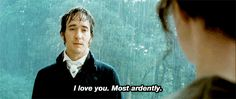 Most ardently love the way he said it.