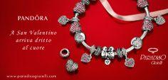 A #SanValentino arriva dritto al #cuore con #Pandora  Scopri sul nostro #sito la #pagina dedicata alla #festa degli #innamorati!!! http://www.paradisogioielli.com/it/content/9-pandora #Bracciali #Gioielli #Donna #Love #Charm