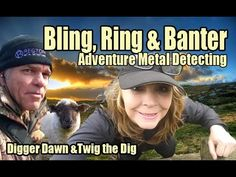 Digger Dawn & Twig the Dig - Bling, Ring & Banter. Fun metal detecting in the UK Gold Prospecting, Metal Detecting, Digger, Twiggy, About Uk, Dawn, Bling, Adventure, Youtube