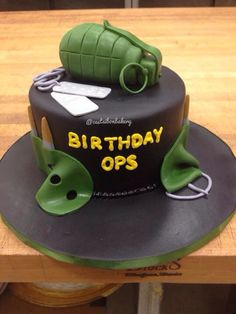 Black ops call of duty cake!