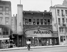 Paraiso Theatre, East Harlem/Spanish Harlem Year:  5/9/1955