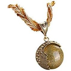 Boho Statement Necklace for Women With High Quality Now At Best Prices! Bohemian Style, Boho, Bohemian Necklace, Mobile Accessories, Rhinestone Jewelry, Latest Fashion Trends, Pocket Watch, Pendant Necklace, Clothes For Women