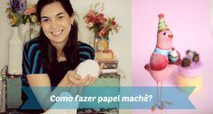 Como fazer massa de papel machê - textura lisa e fina!
