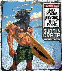 Crete ~ surf in crete ~