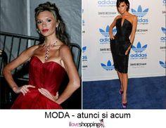 Victoria Beckham - atunci si acum
