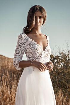 09fa7c5340a 10 meilleures images du tableau robe de mariee champetre