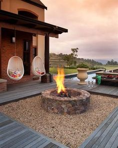 A roaring fire is a pleasure that needn't only be enjoyed indoors, which is why bomas have become a fashionable addition to large and small gardens alike