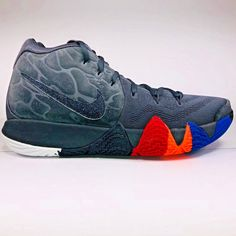 buy popular e5592 eb89b NIKE KYRIE 4 YEAR OF THE MONKEY ANTHRACITE BLACK BASKETBALL 943806 011   nikekyrie  nike