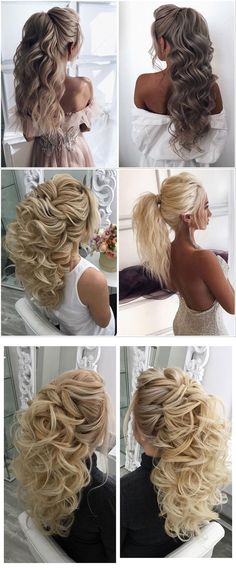 wedding hair Effortless And Natural Loose Curls Volume-Packed Ponytail bridal hairstyles Wedding Blog, Wedding Day, Hair Wedding, Latest Hairstyles, Wedding Hairstyles, Bridal Hair Inspiration, Vetement Fashion, Loose Curls, Style Hairstyle