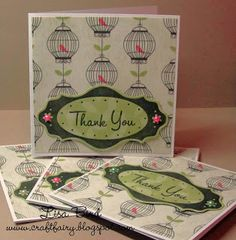Thank you card made using First Edition and Fiskars Fuse Creativity System Die Cutting Machine