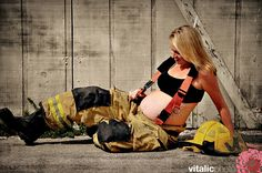 Firefighter Wedding Ideas | Maternity firefighter photo inspirations - Project Wedding Forums