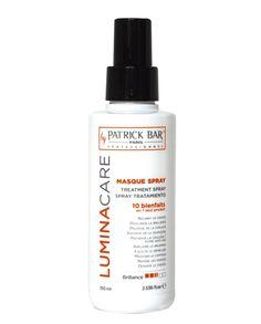 Masque Spray 10 en 1 LUMINACARE Patrick Bar Professionnel 150ml - 10 bienfaits en 1 produit !