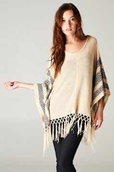 Catch Bliss Boutique - Khloe Fringe Open Arm Sweater, (http://www.catchbliss.com/khloe-fringe-open-arm-sweater/)