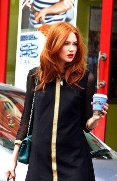 Karen Gillan - Have I mentioned that I NEEEEEDDD red hair