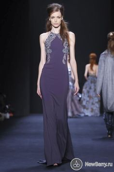 Badgley Mischka осень-зима 2015-2016
