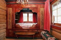 old norwegian sleeping alcoves - Google Search