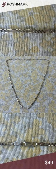 """925 PDGA Silver Chain Necklace 16"""" 925 PDGA Silver Chain Necklace 16"""" Jewelry Necklaces"""