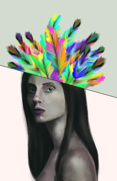Spring spirit illustration
