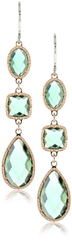 Gorgeous green earrings