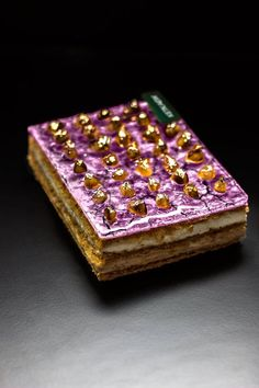 Mont Blanc Feuilleté Chestnut Cream, French Lilac, Chantilly Cream, French Patisserie, Sweet Stories, Square Cakes, French Pastries, Edible Art, Culinary Arts