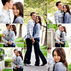 Cute engagement pictures.