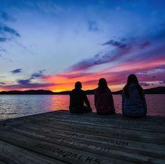 Creating beautiful new memories with friends in the Adirondacks. (Photo via Instagram: tleach18) #LLBeanMoment