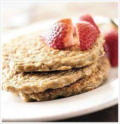 Power Oatmeal Pancakes