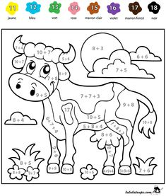 Math Coloring Worksheets, 2nd Grade Math Worksheets, Special Education Classroom, Math Classroom, Education Logo, Kids Education, Coloring Books, Coloring Pages, Unicorn Wallpaper Cute