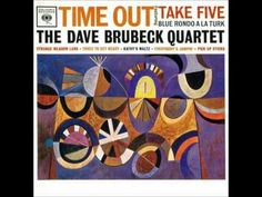"""The Dave Brubeck Quartet-""""Time Out"""" [FULL ALBUM]. One of my favorites from The Dave Brubeck Quartet. Tracks include """"Blue Rondo A La Turk,"""" """"Take Five,"""" and """"Strange Meadow Lark."""" This album was released in It runs nearly forty minutes long. Jazz Music, New Music, Dave Brubeck, Chet Baker, Jazz Standard, Pick Up Sticks, Classic Jazz, Take Five, Vinyl Lp"""