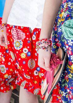 Kissed by Style - Funny Wickelarmband - Funny Bracelets und Flower Power Pantoletten bei uns im Shop erhältlich http://kissedbystyle.de/