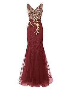 Dresstells® Long Lace Mermaid Prom Dress with Appliqu... https://www.amazon.co.uk/dp/B00XBHJU8M/ref=cm_sw_r_pi_dp_T5CLxbKZ2R3PX
