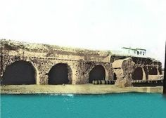 Before the construction of the coastal road and the pier nearby, the sea was very close to the shipyards. Heraklion, Historical Pictures, Crete, Marina Bay Sands, Venetian, Arsenal, Coastal, The Past, Places
