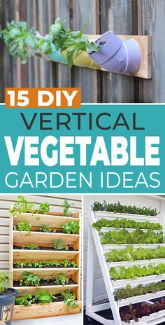 Whether you are just looking for ways to grow more crops in your existing backyard garden, or you need to find ideas to grow vegetables on the tiniest balcony, we have 15 vertical vegetable garden ideas and projects you need to check out! Small Garden Gazebo, Small City Garden, Small Gardens, Outdoor Gardens, Dream Garden, Diy Garden Projects, Diy Garden Decor, Garden Ideas, Gardening For Beginners