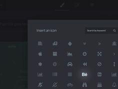 Icon Modal - WordPress